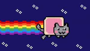 Nyan Cat, arte vendida por aproximadamente US$ 590 mil